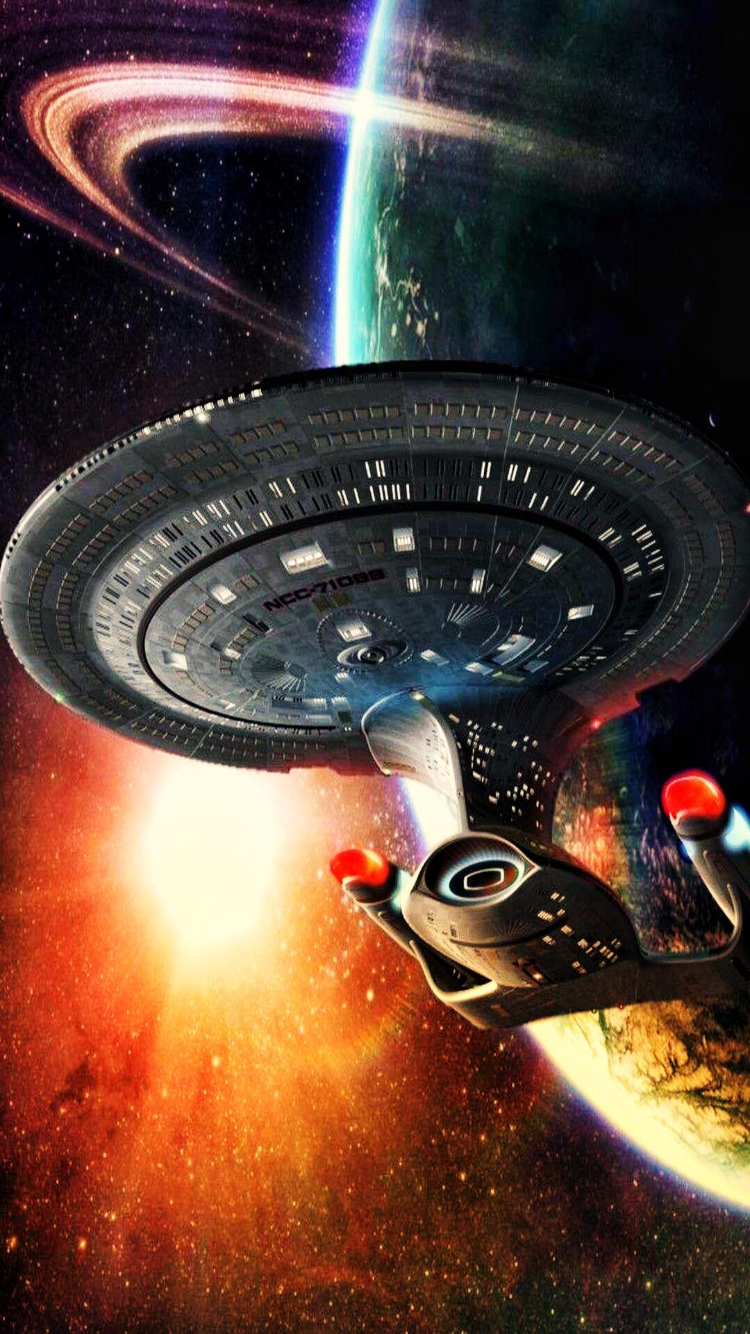 Tng Enterprise Iphone Wallpaper Star Trek Iphone 6s