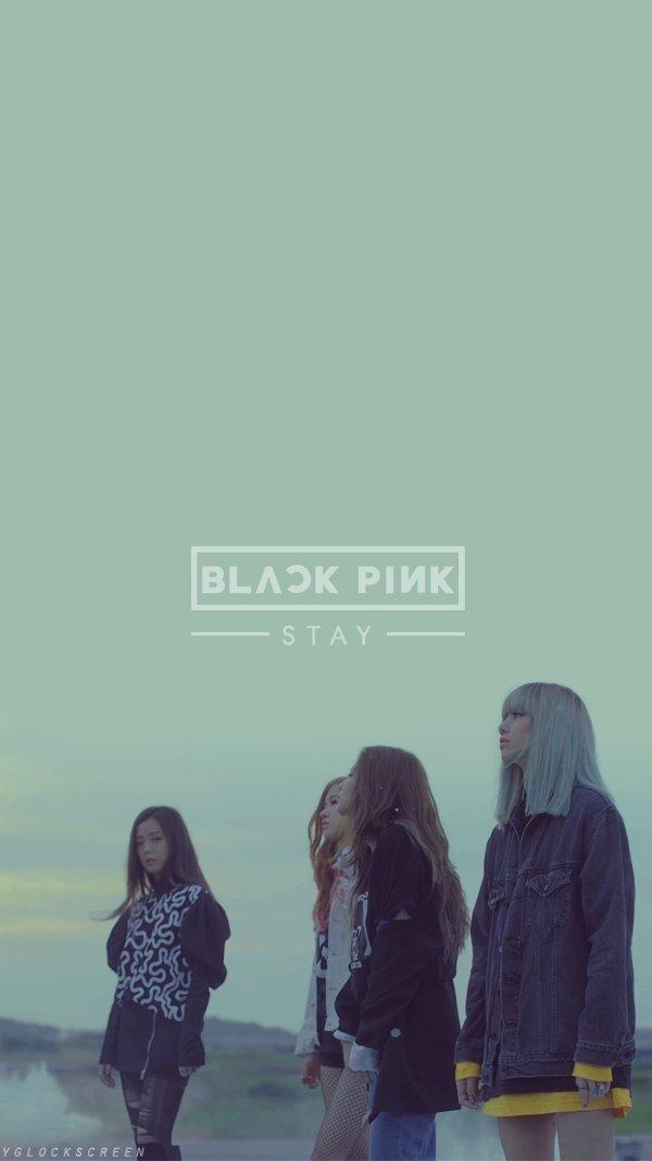 Yg Lockscreen World On Twitter Quot Black Pink Stay - Blackpink Stay , HD Wallpaper & Backgrounds