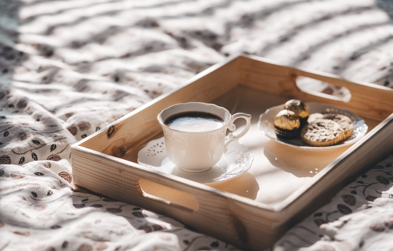 Photo Wallpaper Coffee, Chocolate, Breakfast, Morning, - Kaffee Sprüche Für Tag , HD Wallpaper & Backgrounds