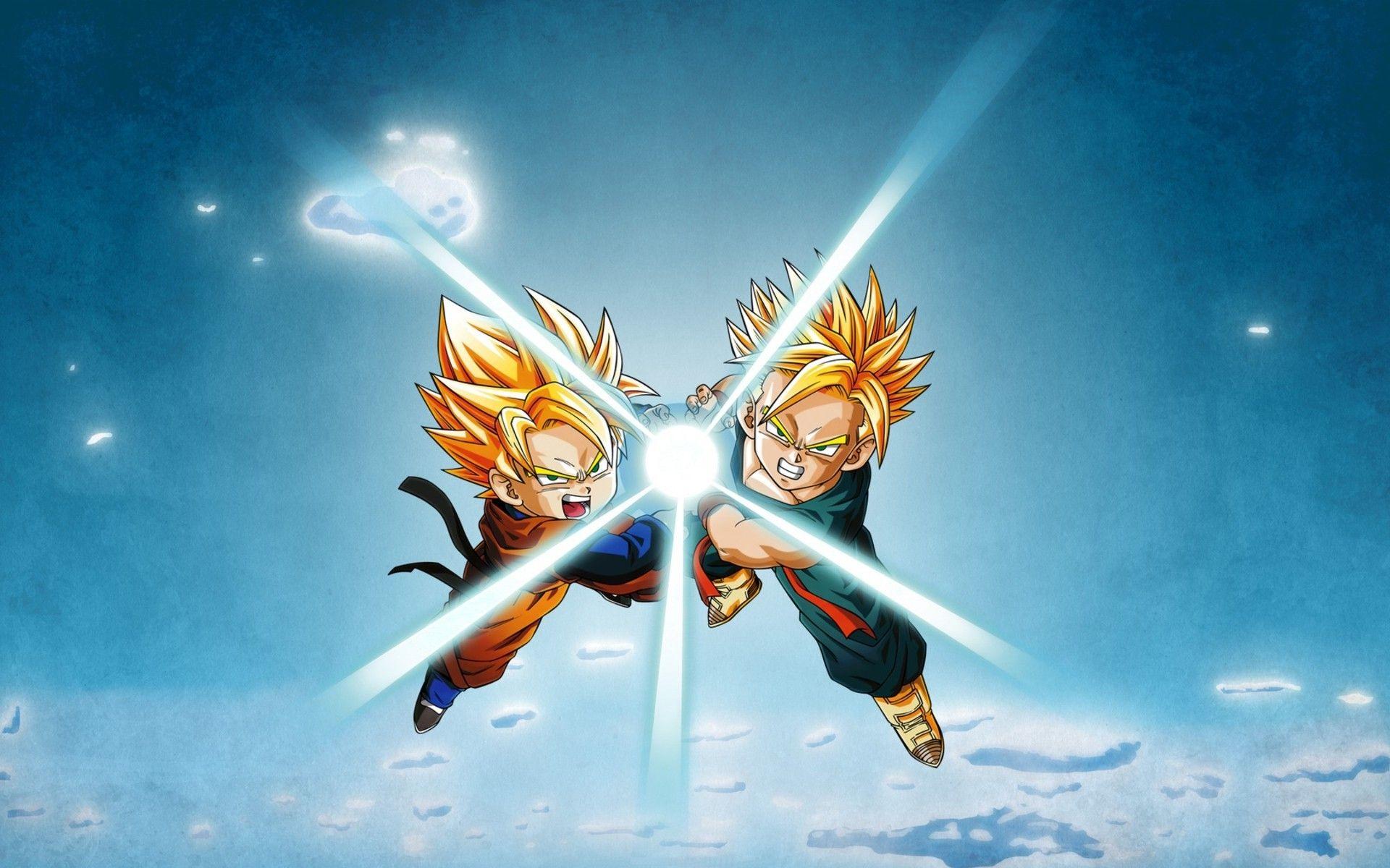 Dragon Ball Dragon Ball Z Son Goten Trunks Character - Goten Trunks , HD Wallpaper & Backgrounds