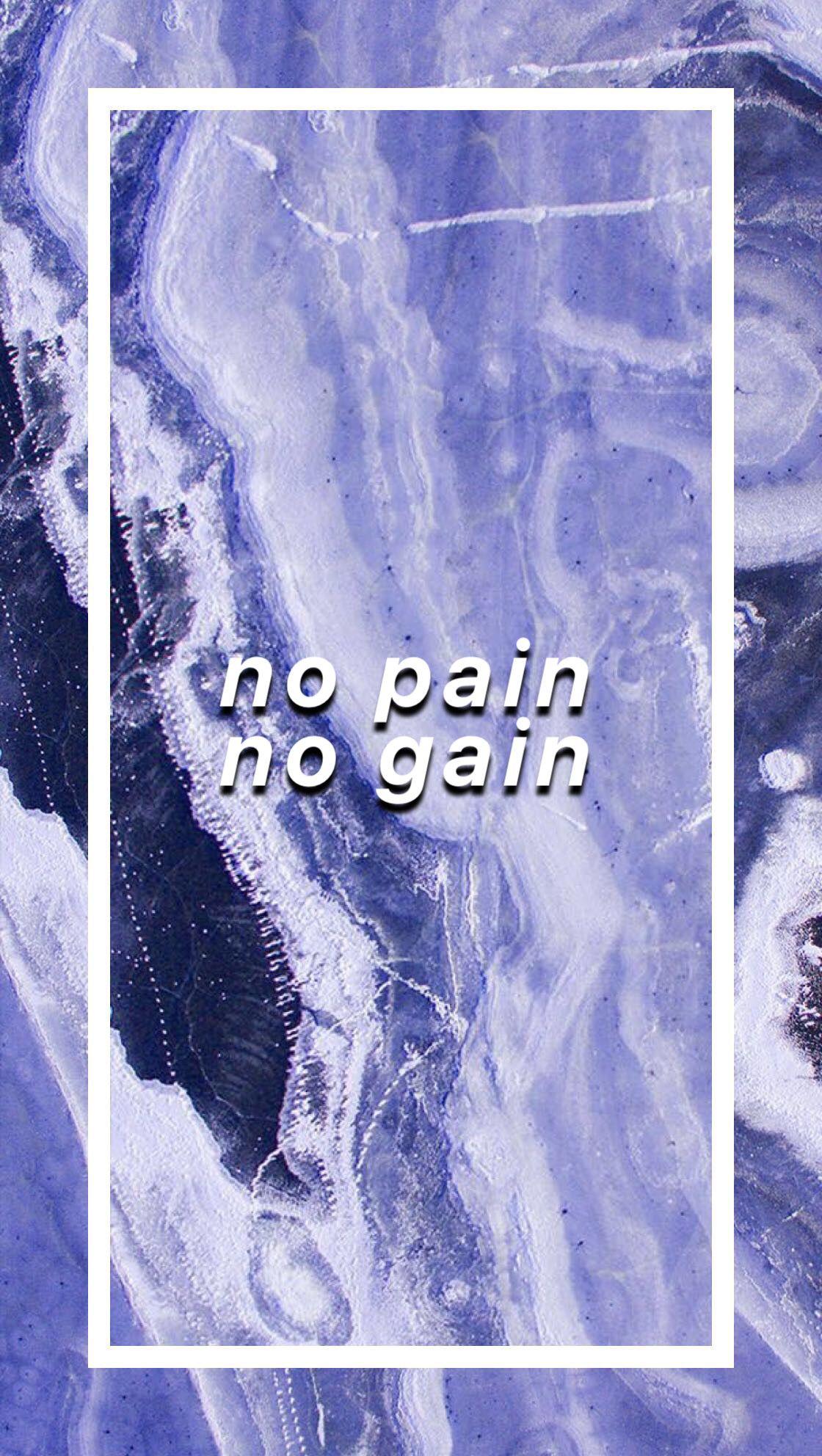 No Pain No Gain Gain Adidas Logo Backgrounds Background Blue