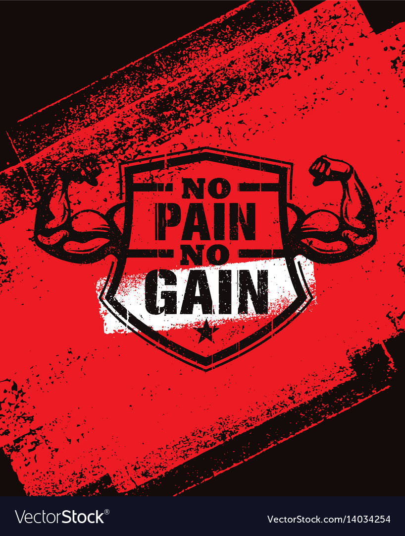 Motivation Quotes Gym Workout With No Pain Gain Quote No Pain No