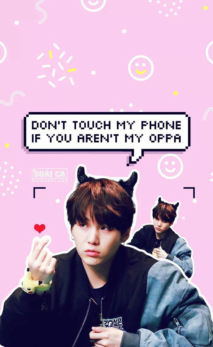 Ill Just Hug You Bts Lockscreen Bts Fans Min Suga Don