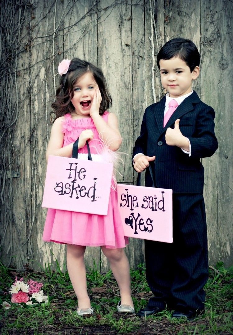 Cute Love Baby Couple Wallpapers For Mobile Wallpaper - He Asked Me She Said Yes , HD Wallpaper & Backgrounds