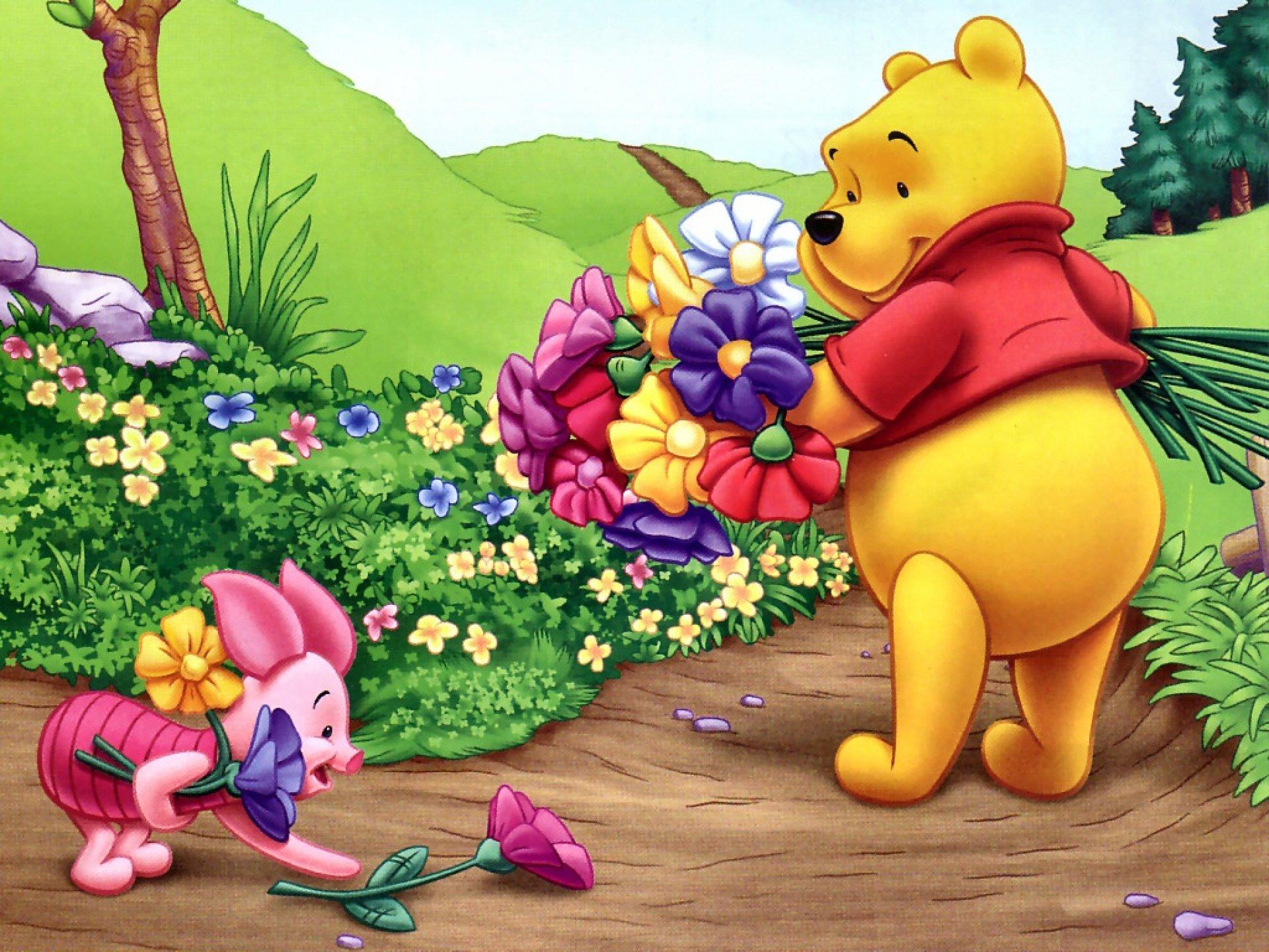 Hd Wallpaper Winnie The Pooh Beautiful 830283 Hd Wallpaper