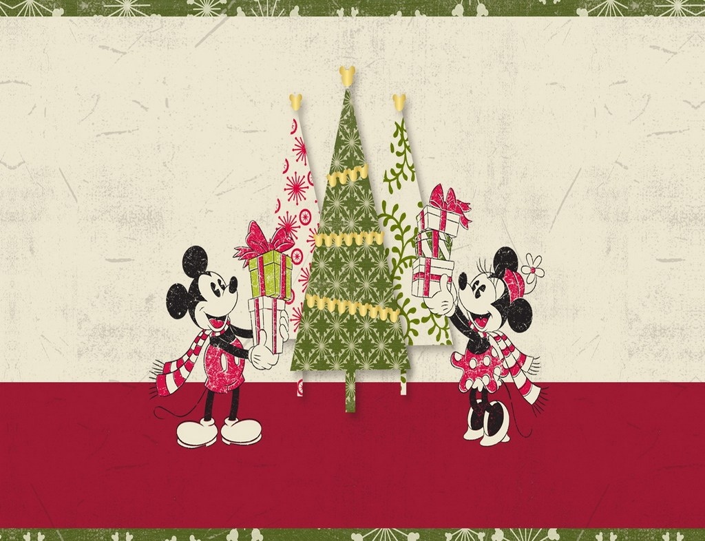 Disney Christmas Wallpaper For Ipad Wallpapersafari