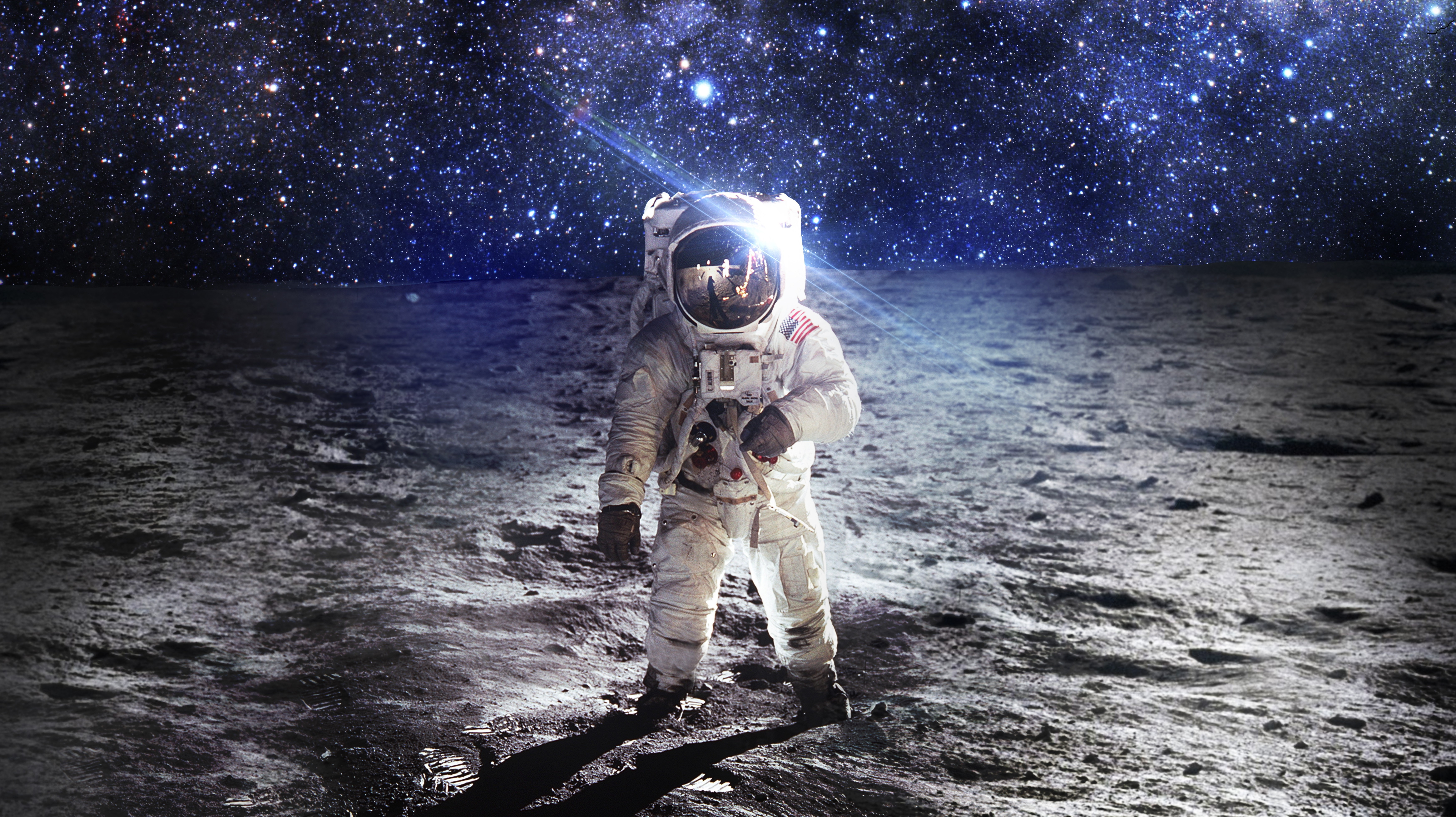 #astronaut, #space Wallpaper - Astronaut On A Planet , HD Wallpaper & Backgrounds