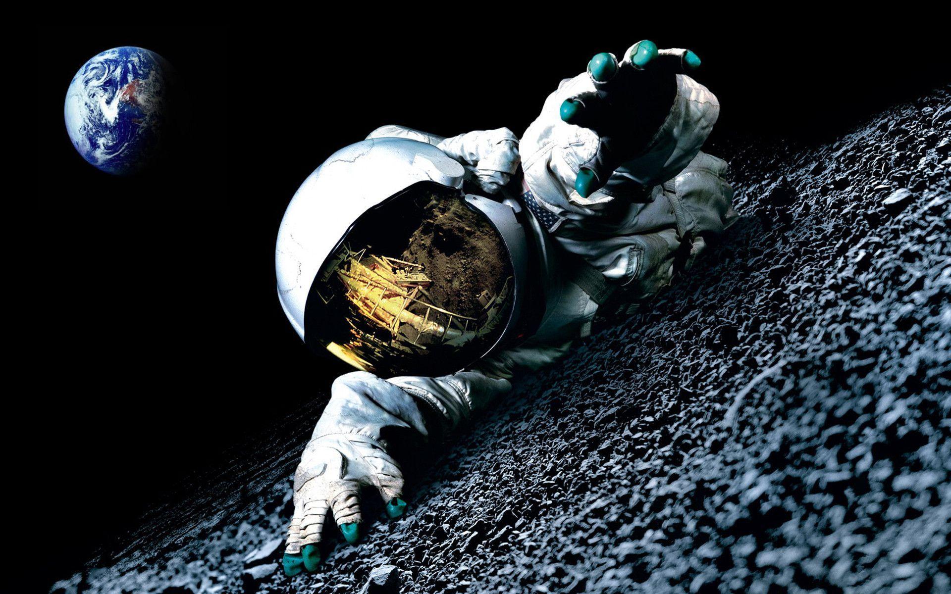 93 Astronaut Wallpapers , HD Wallpaper & Backgrounds