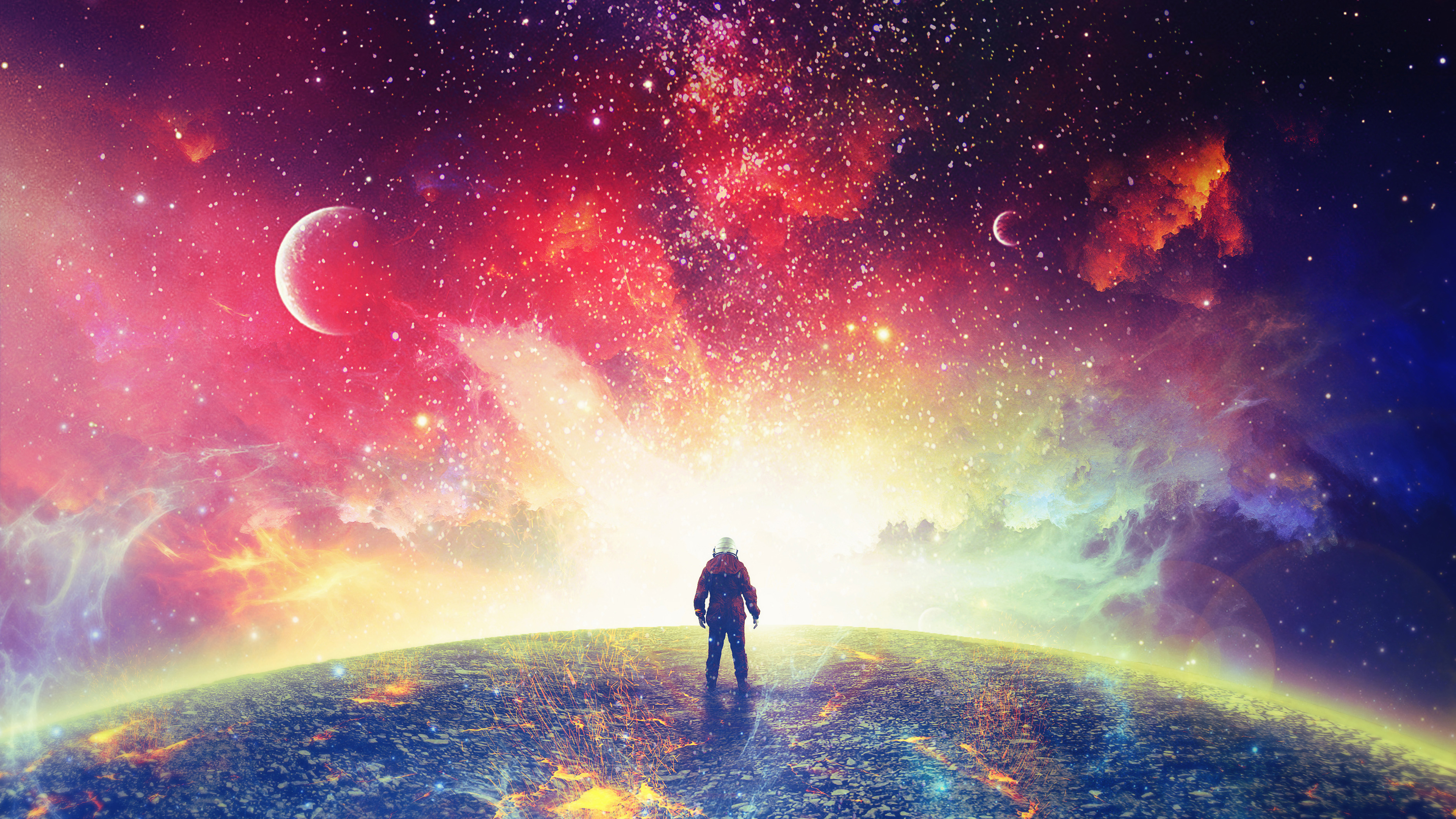 Surreal Space Astronaut 4k Wallpapers Iphone Wallpaper 4k Astronaut 831967 Hd Wallpaper Backgrounds Download