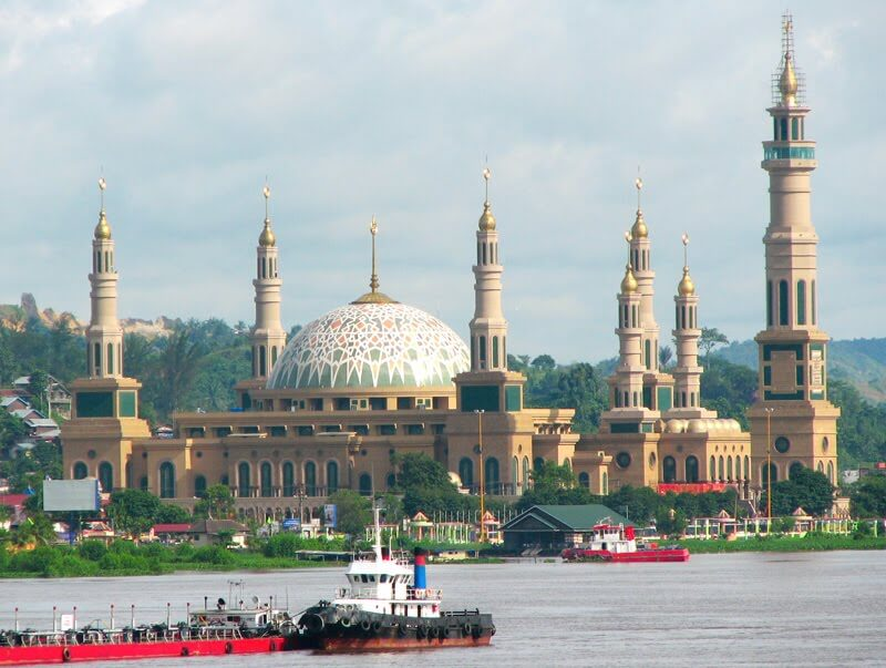 Model Masjid Islamic Centre Samarinda Samarinda Islamic Center