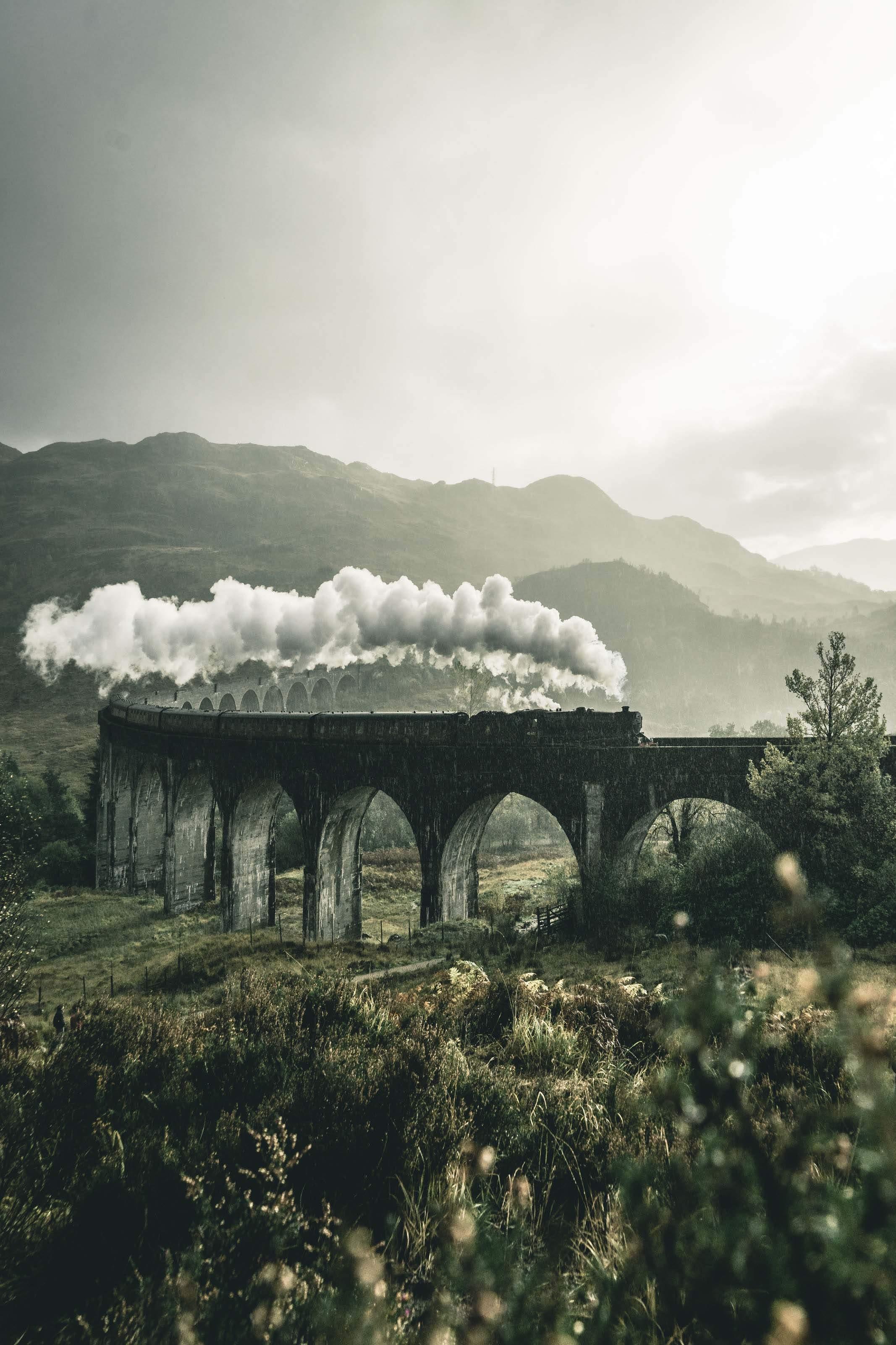 Wallpaper Hp Keren Gambar Kereta Dan Jembatan No Good