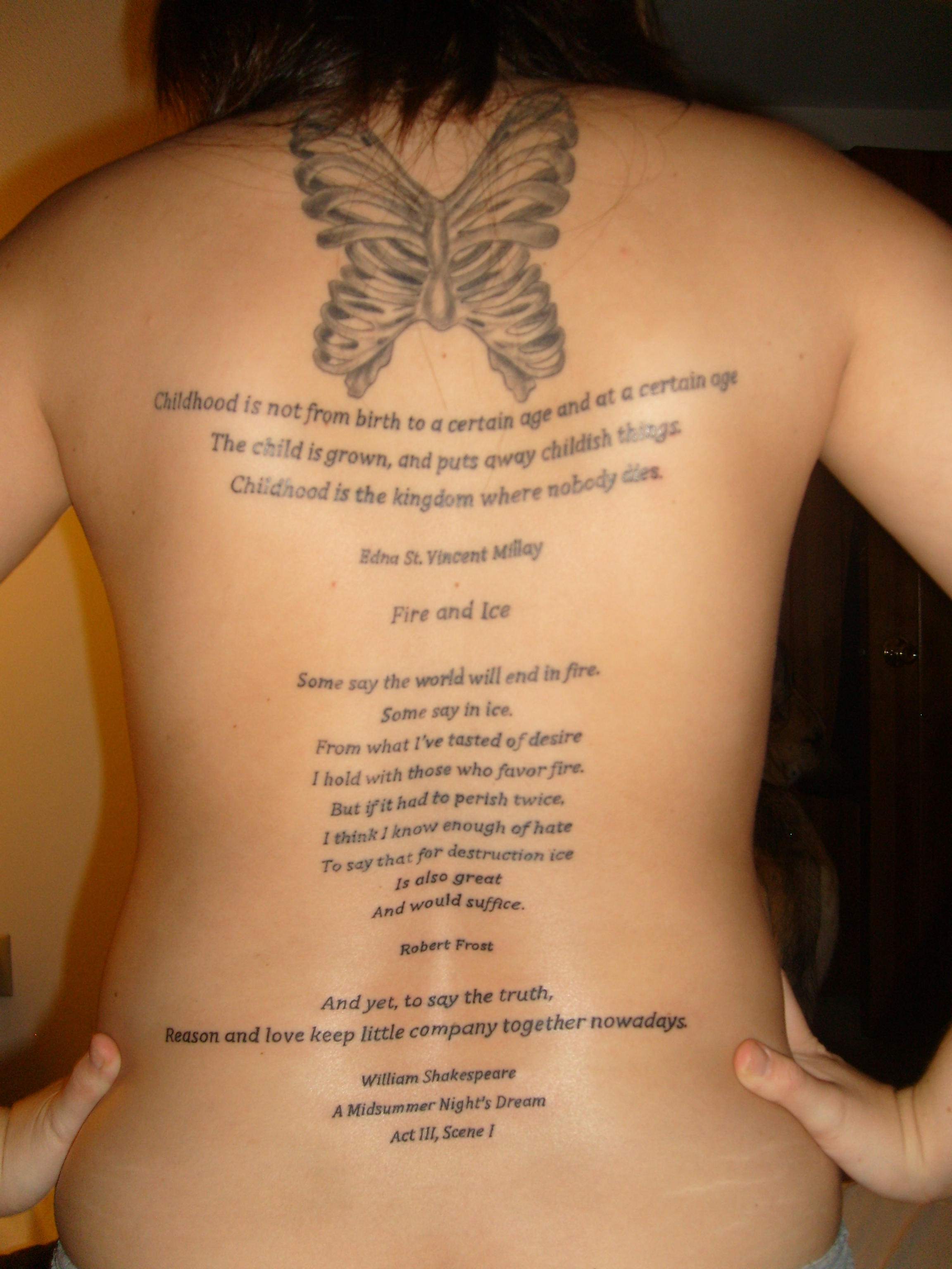 Tattoos Quotes For Chest Ideas - Power Of Now Tattoo , HD Wallpaper & Backgrounds