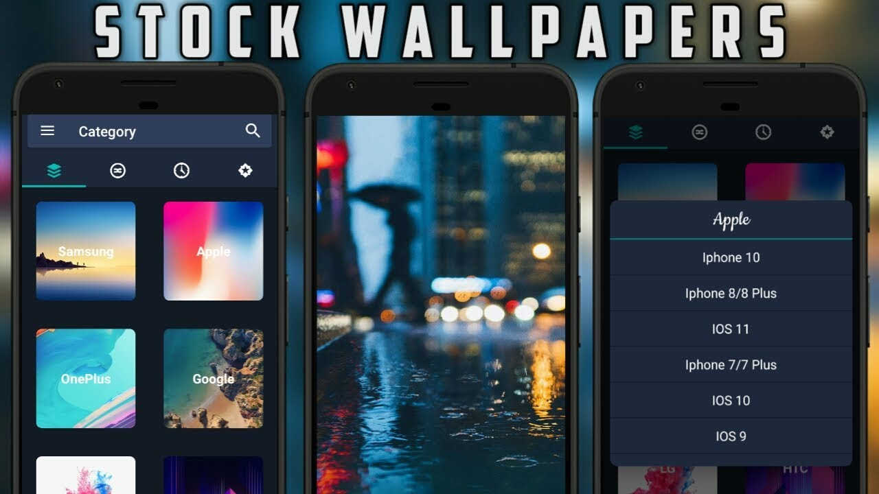 How To Get Stock Wallpapers Of Any Smartphone For Free Google
