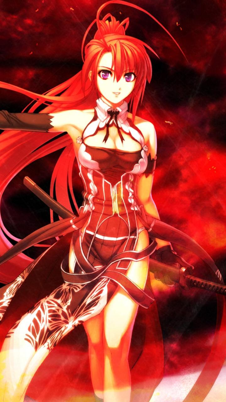 Fire Anime Girl - Anime Wallpaper Hd , HD Wallpaper & Backgrounds