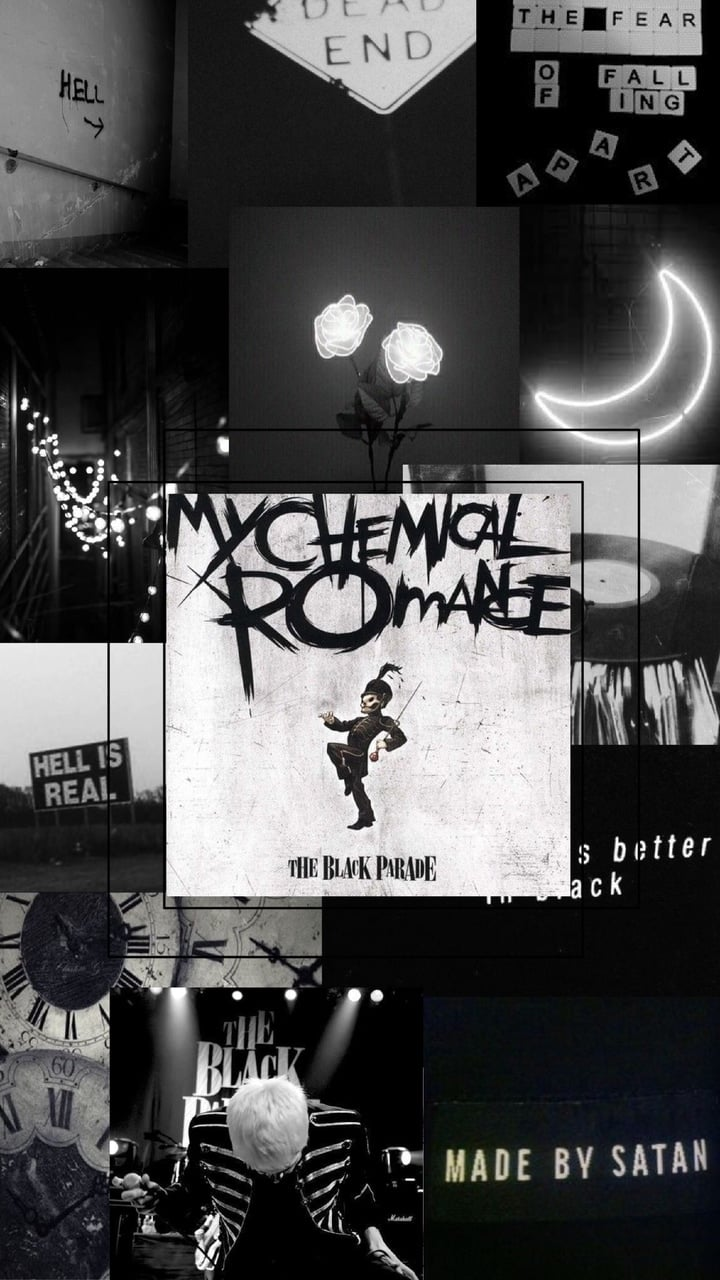 My Chemical Romance The Black 850540 Hd Wallpaper