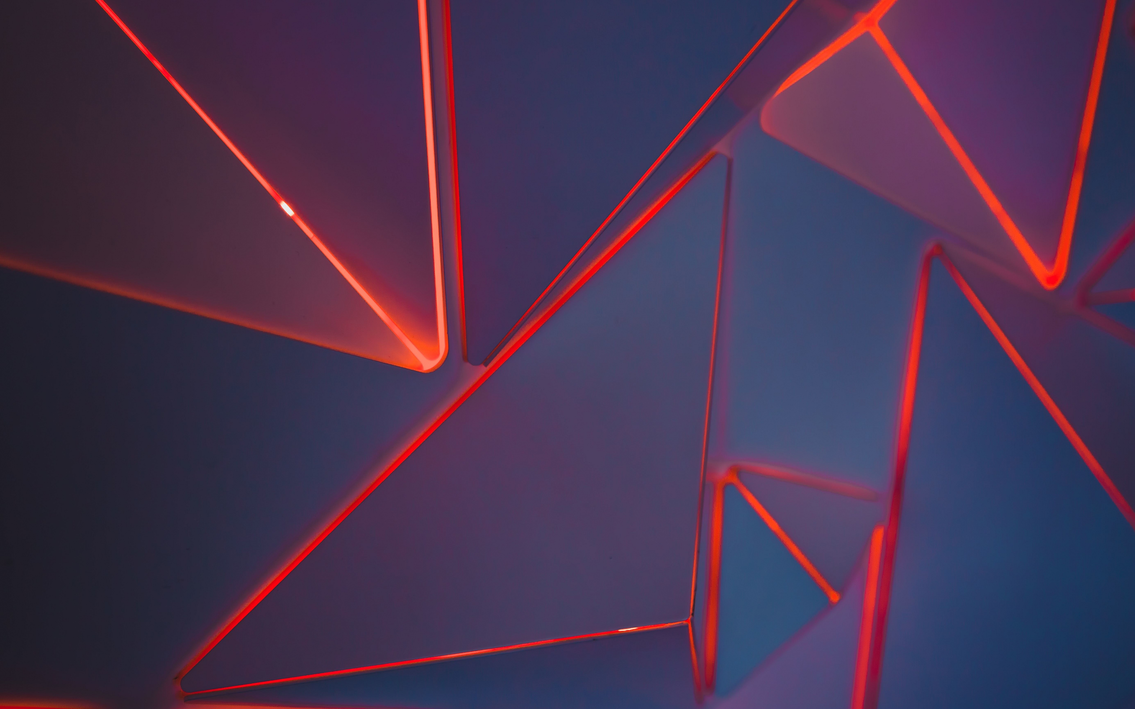 Red Neon Triangles Geometric Pattern Wallpaper Neon Geometric 851340 Hd Wallpaper Backgrounds Download
