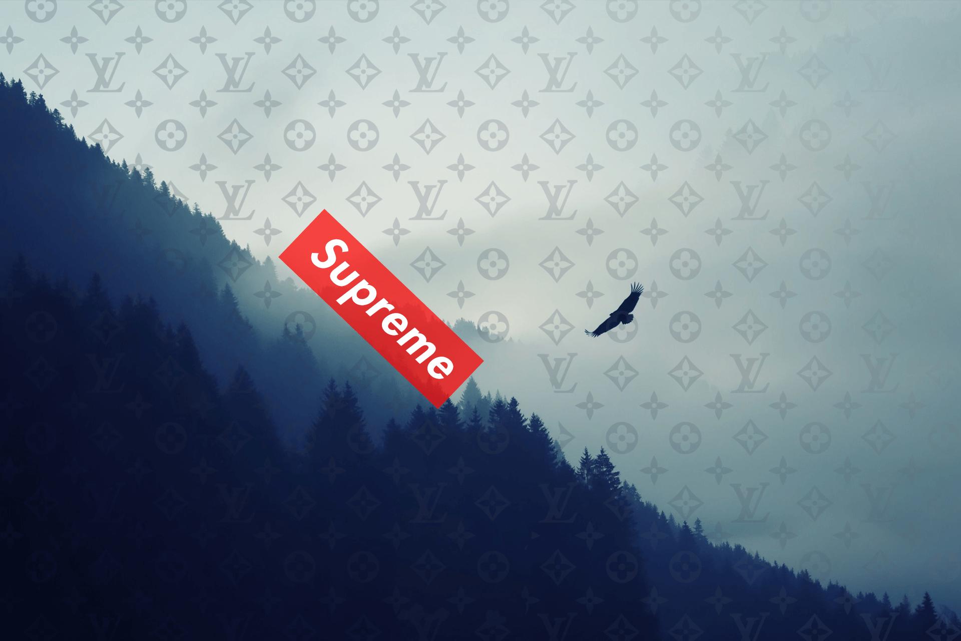 Supreme Louis Vuitton Wallpaper 4k Supreme 851402 Hd