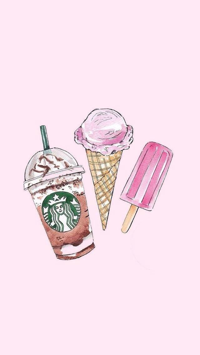 Ice Cream Wallpaper - Ice Cream Wallpaper Iphone , HD Wallpaper & Backgrounds
