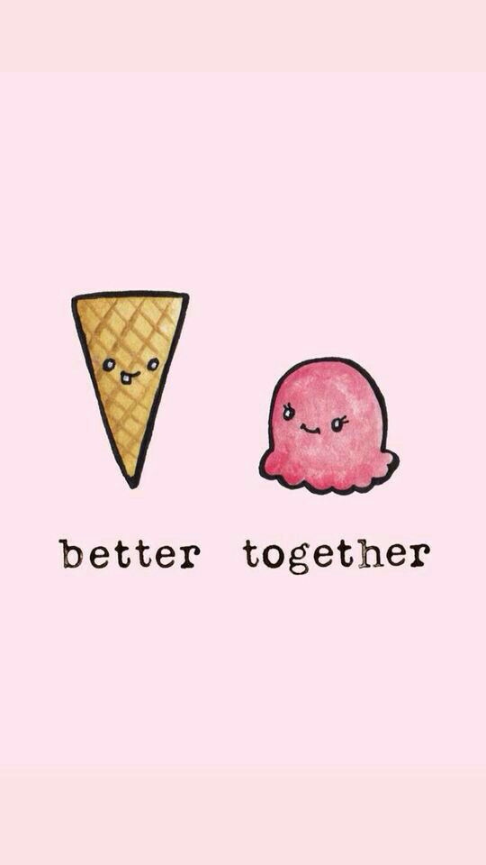 Image About Pink In Tumblr, Colors And Kawaii✨🙌💎💎💖🌹 - Better Together Ice Cream , HD Wallpaper & Backgrounds