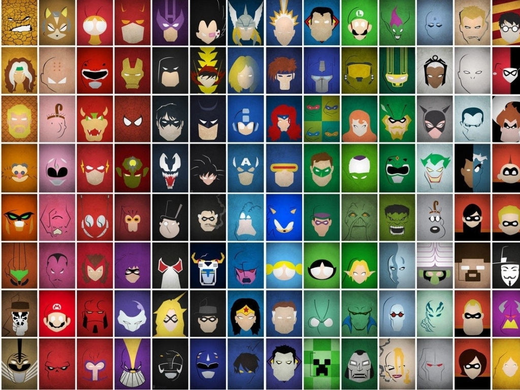 The Most Beautiful Wallpapers Marvel All Characters Poster