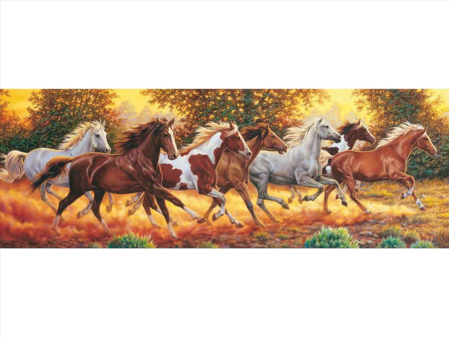 More Wallpaper Collections Running Horses Puzzle 853630 Hd