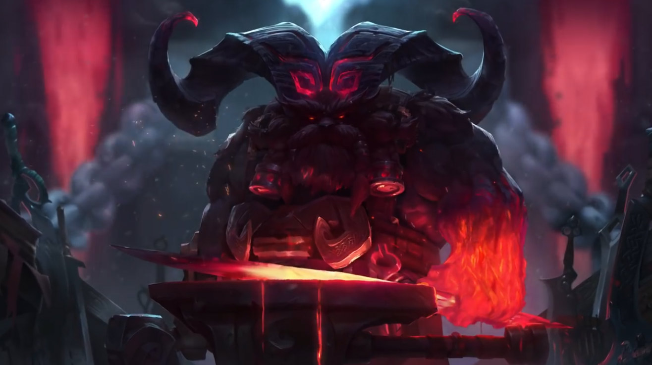 League Of Legends Animated Wallpaper Lol Ornn 854774 Hd