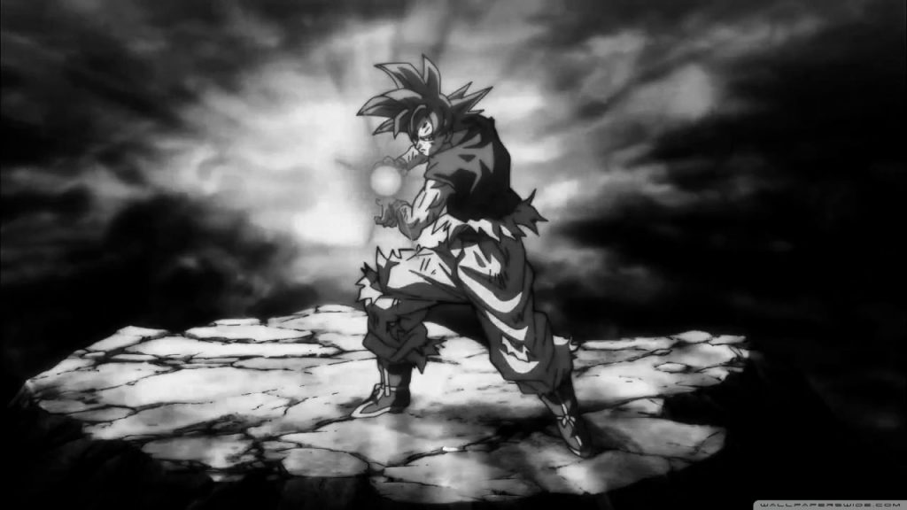 Goku Black And White 4k Hd Desktop Wallpaper Black And White 4k 855114 Hd Wallpaper Backgrounds Download