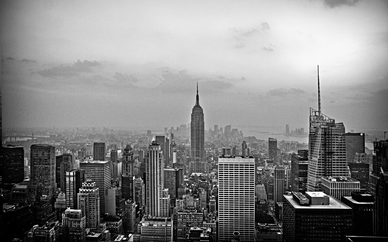 New York City Wallpaper Black And White New York City