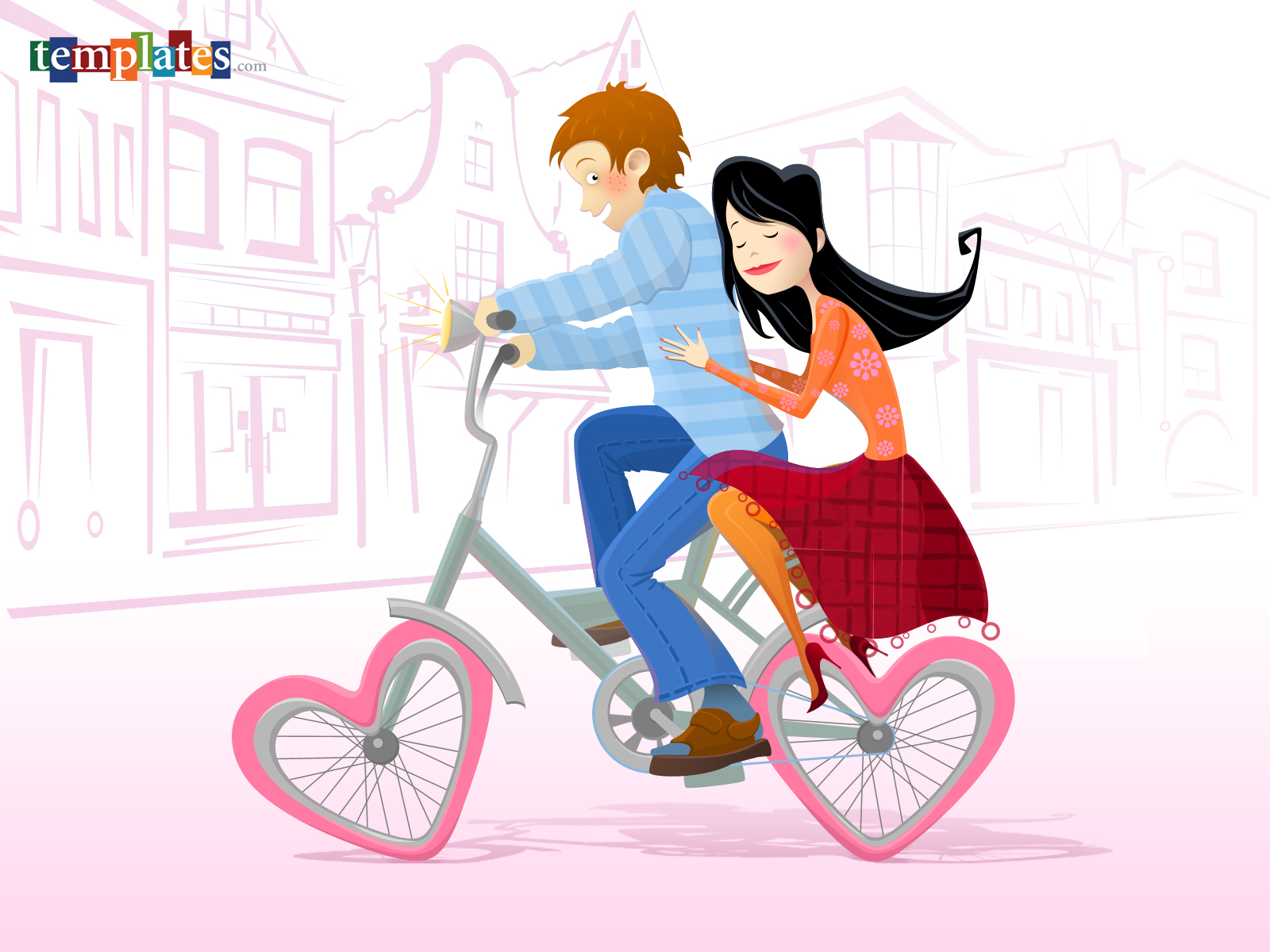 Loving Couple Wallpapers And Stock Photos - Valentines Day Wishes Funny , HD Wallpaper & Backgrounds