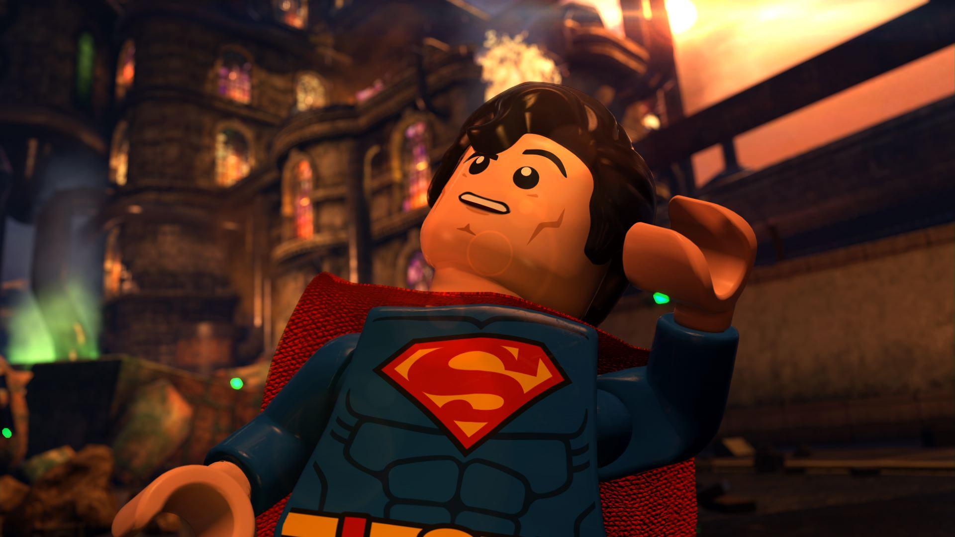 Lego Batman The Movie Dc Superheroes Unite Wallpaper - Lego Batman O Filme Superman , HD Wallpaper & Backgrounds