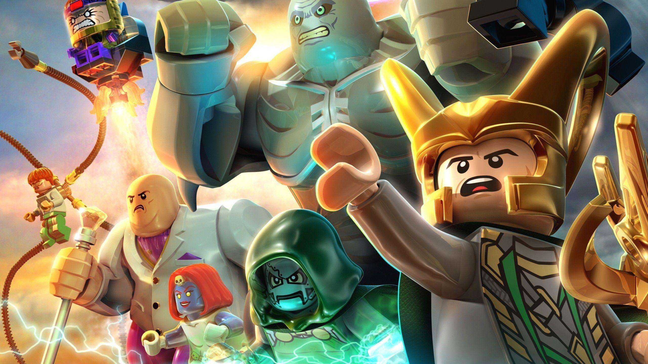 Wallpaper The Lego Batman Movie, Characters, Batman - Lego Super Heroes 2 , HD Wallpaper & Backgrounds