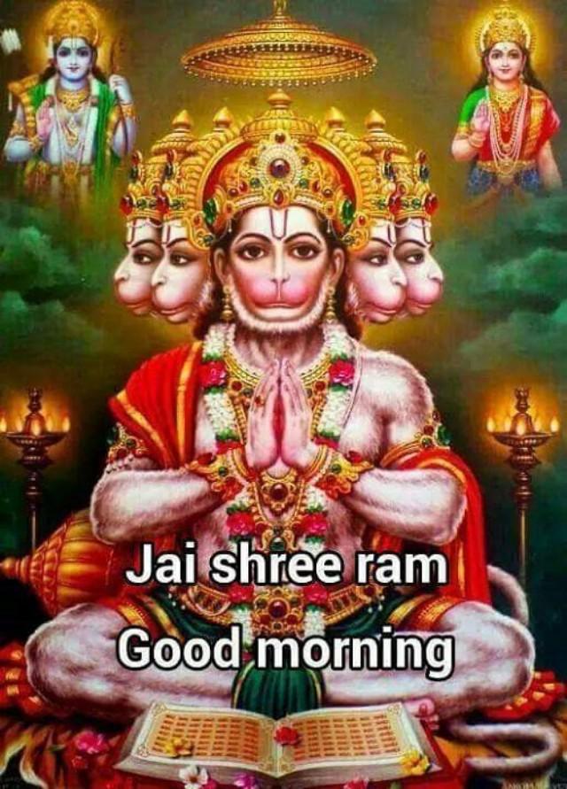 God Good Morning Wallpaper - Jai Shree Ram Good Morning , HD Wallpaper & Backgrounds