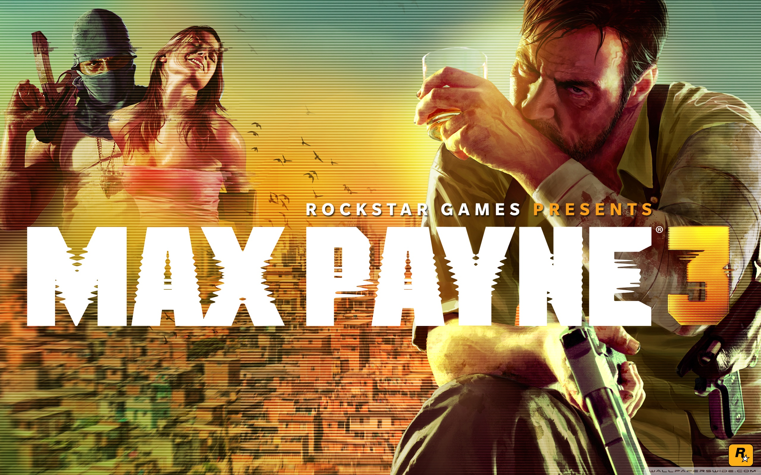 Max Payne 3 Hd Wide Wallpaper For 4k Uhd Widescreen - Max Payne 3 Wallpaper Hd , HD Wallpaper & Backgrounds