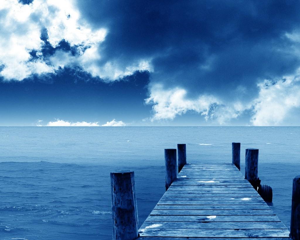 Blue Hình Nền Titled Deep Blue Sea - Deep Blue Sea Hd , HD Wallpaper & Backgrounds