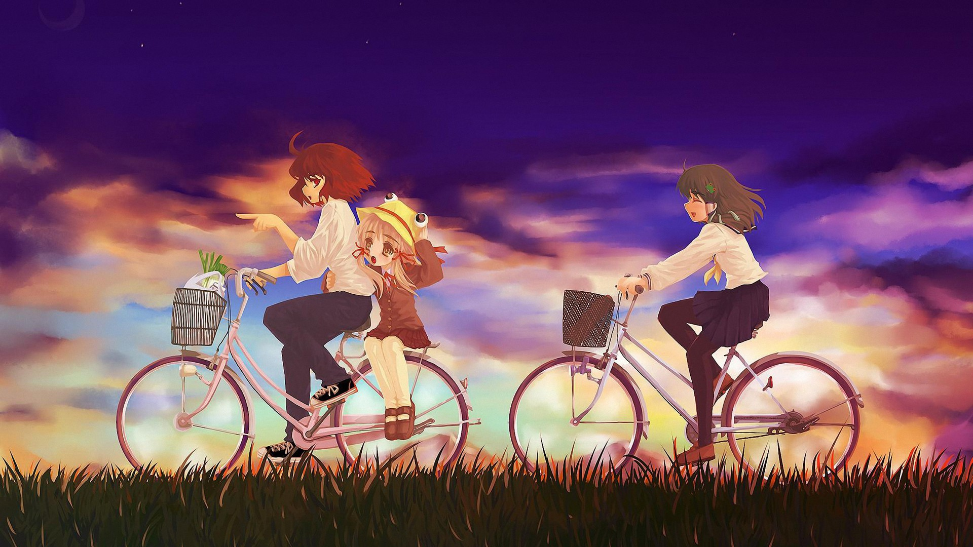 1080p Full Hd Wallpapers - Anime Wallpapers Friendship , HD Wallpaper & Backgrounds