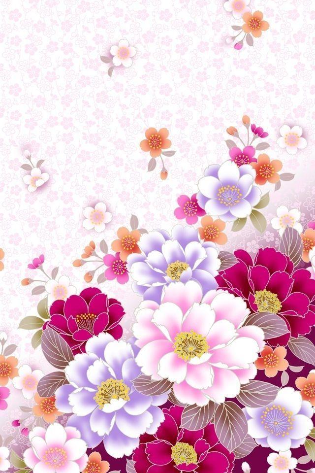Iphone Wallpaper Flowers Hd Background Iphone Hd Flower 869884