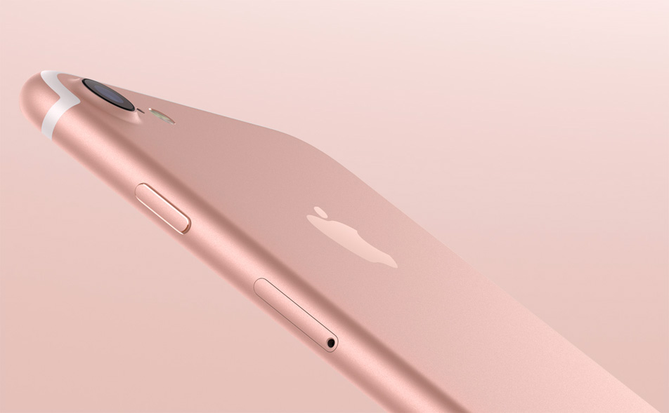 Iphone 7 32gb Vs 128gb - Iphone 7 Rose Gold Features , HD Wallpaper & Backgrounds