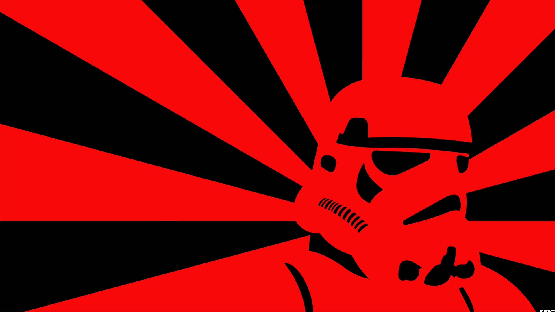Red Hd Wallpaper Red And Black Stormtrooper 878071 Hd