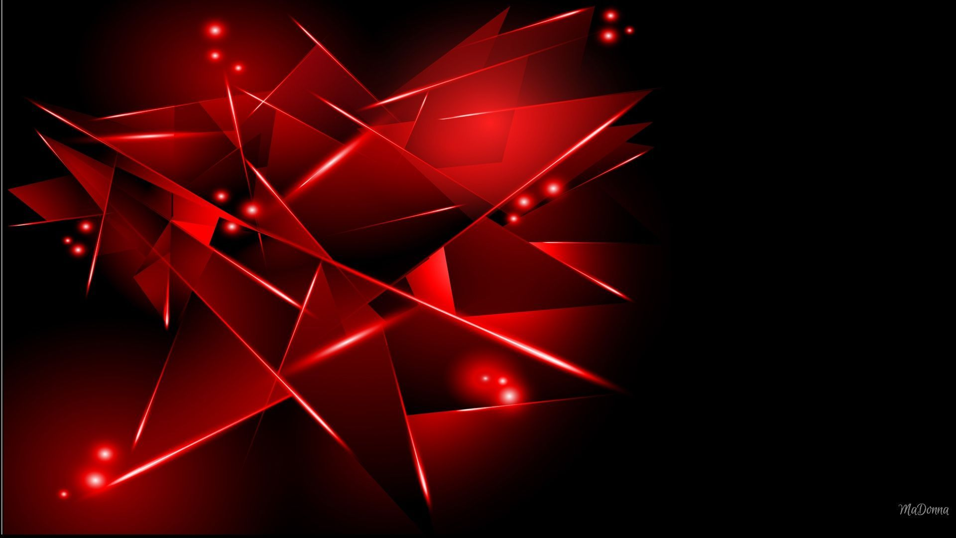 Black And Red Wallpaper 1920x1080 878321 Hd Wallpaper