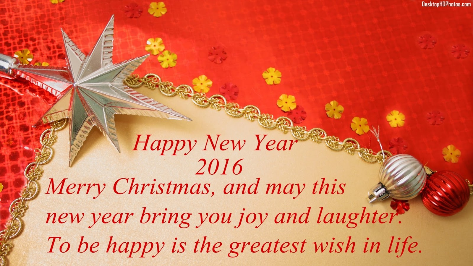 Merry Christmas And Happy New Year Remix 2 With 2016 - Ucapan Merry Christmas 2018 , HD Wallpaper & Backgrounds
