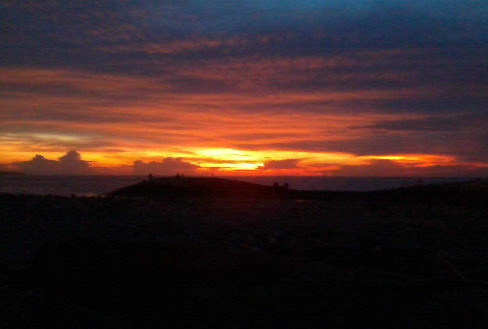 Sunset Day Brilliant Enjoy Sky Amazing Good Sunrise Sunset