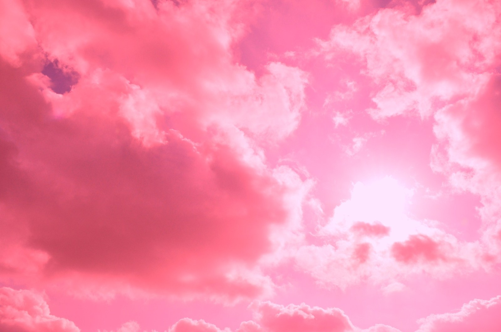 Pink Aesthetic Cloud Background 879802 Hd Wallpaper