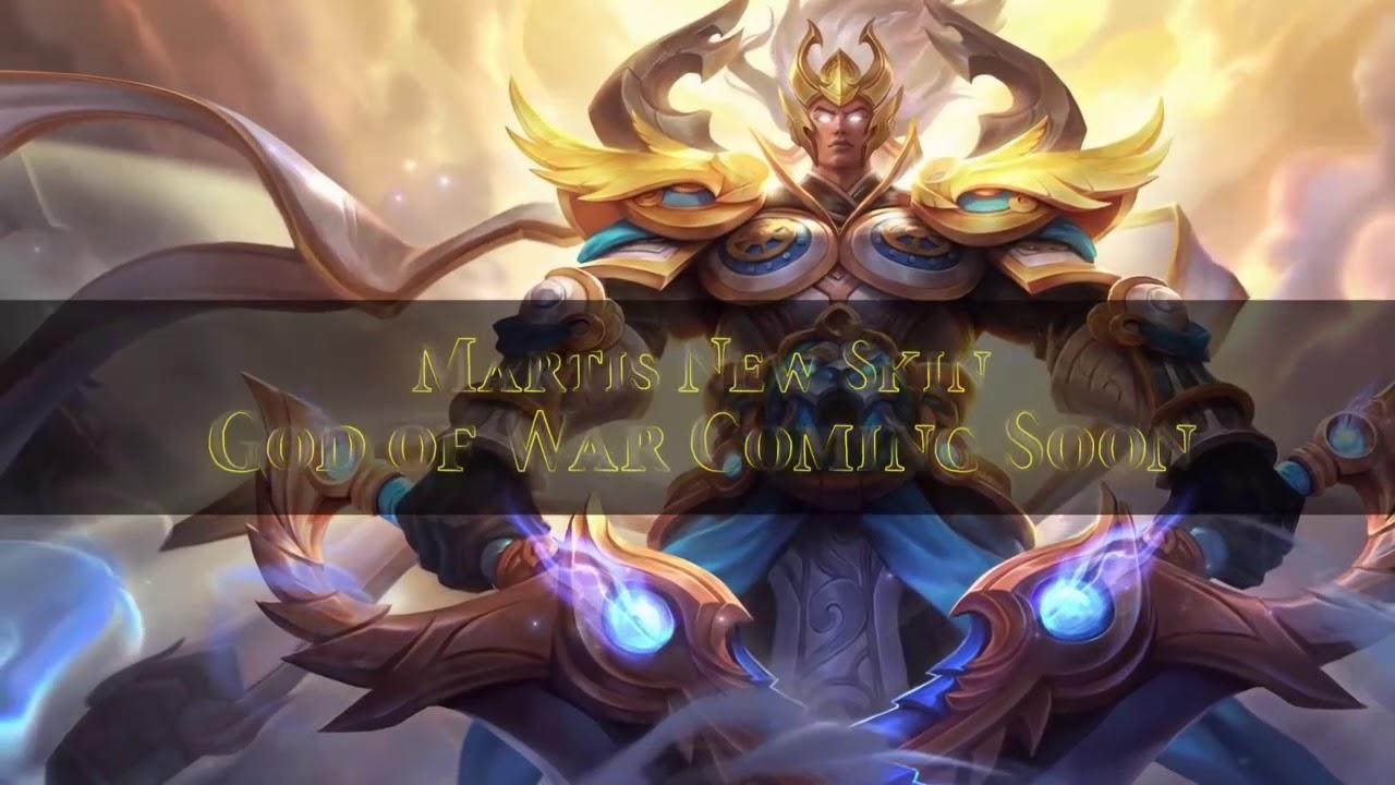 Martis God Of War Moving Wallpaper Mobile Legends Martis
