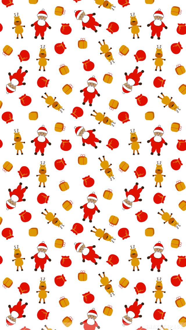 Reindeer Wallpaper Iphone Cute Christmas Wallpaper Iphone