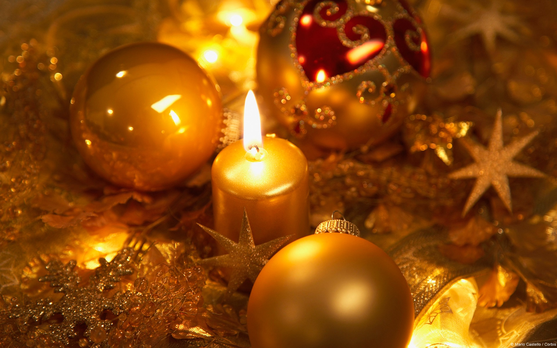 Original Resolution - - Christmas Ornament And Candle , HD Wallpaper & Backgrounds