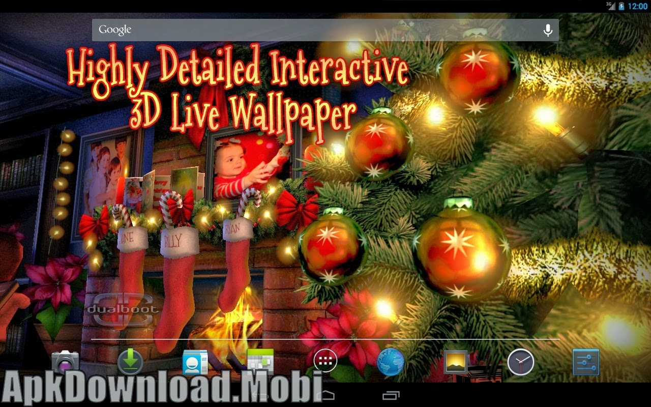 Christmas Rink Live Wallpaper - Free Live Christmas Wallpapers And Screensavers , HD Wallpaper & Backgrounds