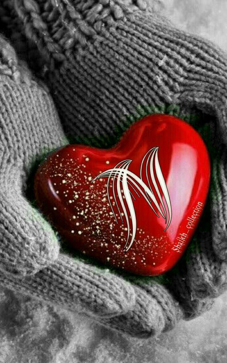 Love Wallpaper Heart N Letter Images