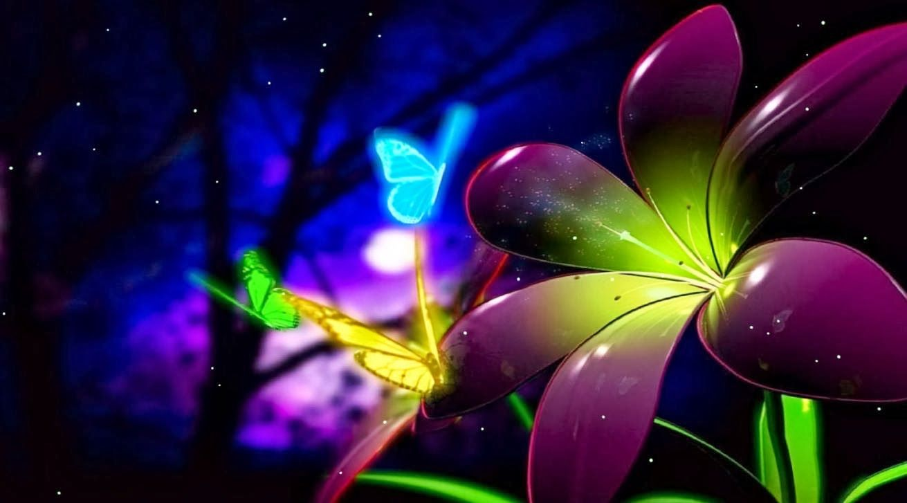 Free Butterfly Desktop Backgrounds - Animated Butterfly Wallpaper Desktop , HD Wallpaper & Backgrounds