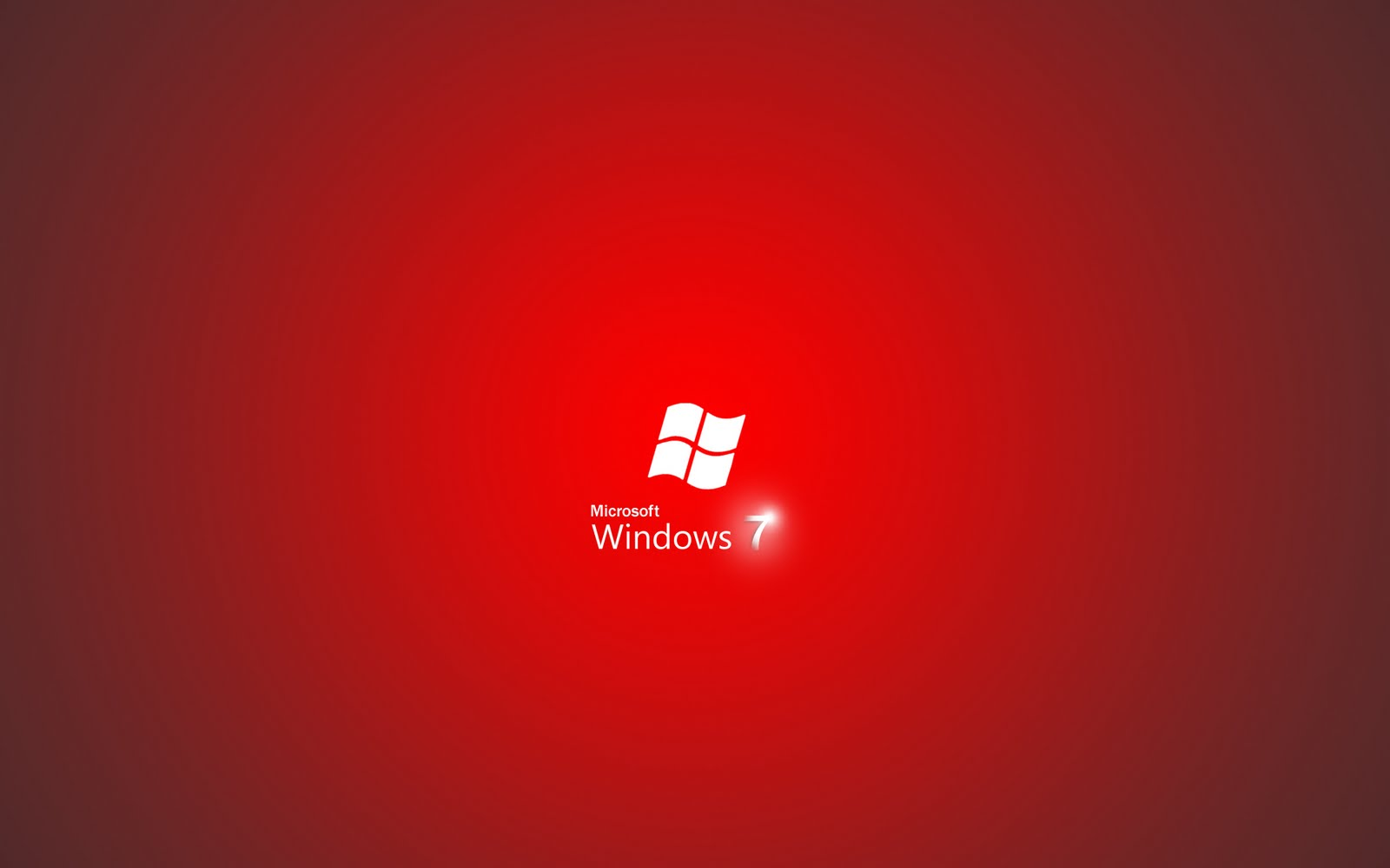 Windows 7 Red Edition High Definition Backgrounds - Windows 7 Red Background , HD Wallpaper & Backgrounds