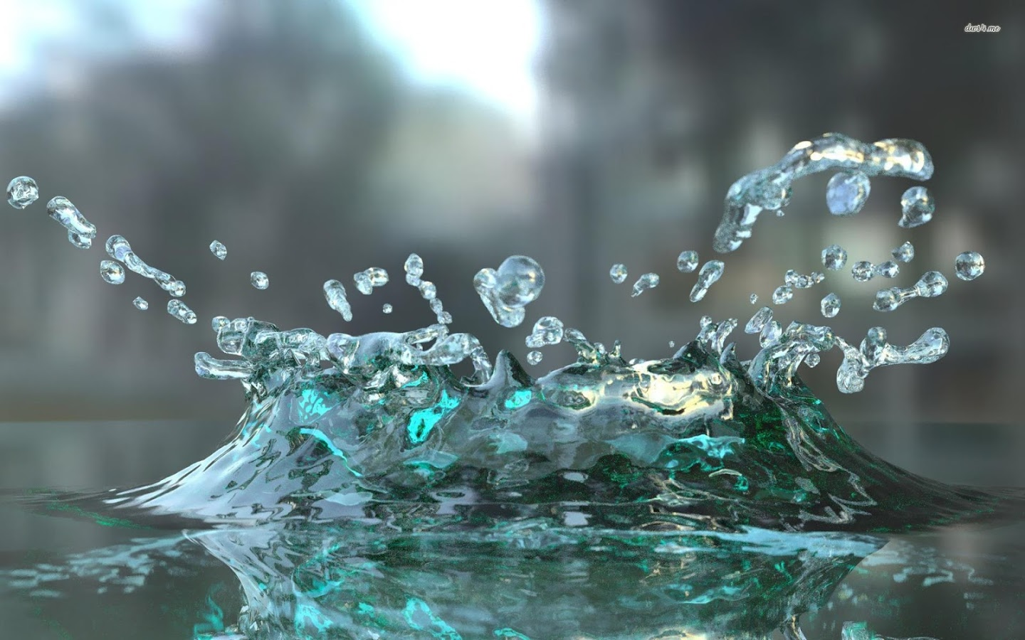3d Water Wallpaper Desktop Group Download For Free, - Soaking In His Presence , HD Wallpaper & Backgrounds